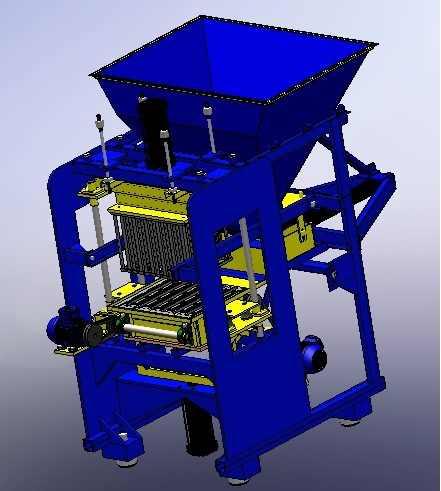 Soluções para maquinas BLOCOS Concreto